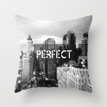 Perfect Throw Pillow by Kate & Co.