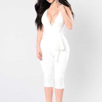 It's Your Thing Jumpsuit - Ivory