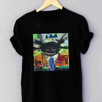 Jean Michel Basquiat Art crazy child - T Shirt for man shirt, woman shirt *NP*