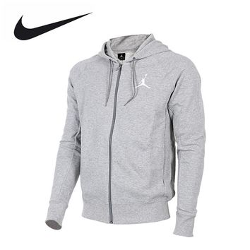 Nike men's Jordan sports leisure running Hooded Jacket 822659-063