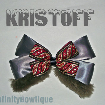 Kristoff Frozen Hair Bow