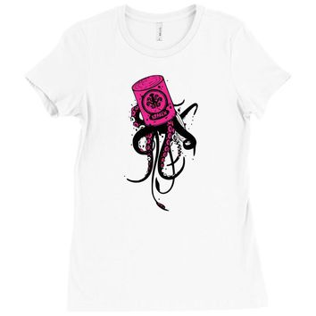 kraken Ladies Fitted T-Shirt