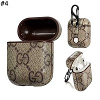 Supreme & GUCCI LV & Burberry Tide brand personality airpods wireless Bluetooth headset set #4