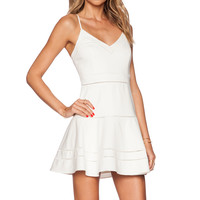Parker Gunther Dress in Ivory