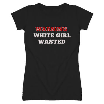 Youth Let's Get White Girl Wasted Funny T-Shirt