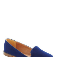 As a Matter of Flat in Blue | Mod Retro Vintage Flats | ModCloth.com