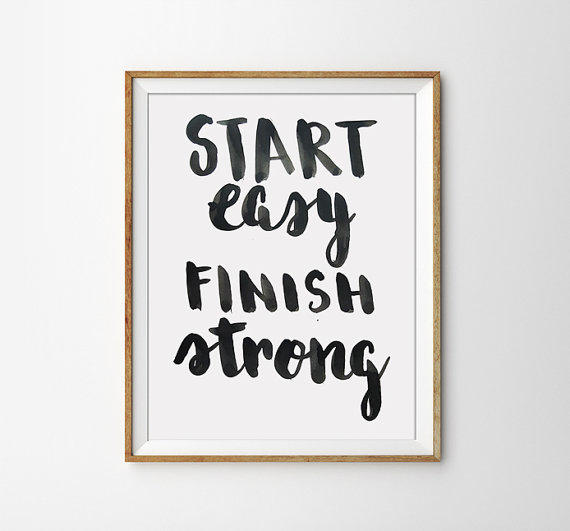 Quote print state easy finish strong from sams simple decor