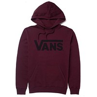 Vans Long Sleeve Pullover Sweatshirt Top Sweater