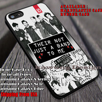 Their not just a band to me, 5sos, 5 Scond of Summer, case/cover for iPhone 4/4s/5/5c/6/6+/6s/6s+ Samsung Galaxy S4/S5/S6/Edge/Edge+ NOTE 3/4/5 #music #5sos ii