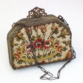 Victorian Purses Antique Handbags Vintage Purse by WhimzyThyme