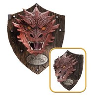 The Hobbit Smaug Head Mounted Trophy - Rubies - Hobbit / Lord of the Rings - Home Decor at Entertainment Earth