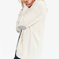 BDG Cayla Elbow Patch Cardigan