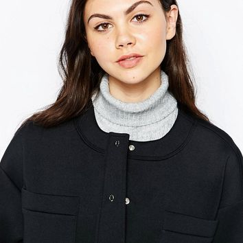 Monki Knitted Neck Warmer