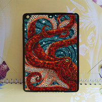Cute Mosaic Octopus Art for ipad mini case,ipad mini 2 case,ipad air case,Mosaic Octopus,ipad 2 case,ipad 3 case,ipad 4 case,new ipad case