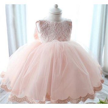 Free shipping New arrive Baby girls dresses for special occasion   Baby flower girl dress Fit for  0-24 month old Baby