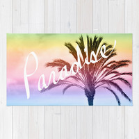 Paradise Area & Throw Rug by Lisa Argyropoulos