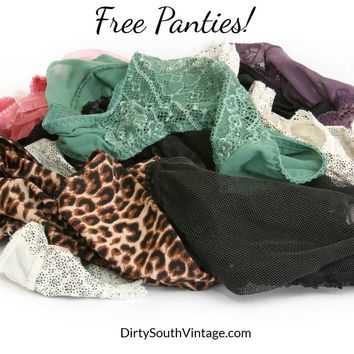 Free Mystery Panties, All Colors & Sizes