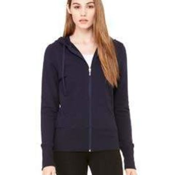 Bella + Canvas - Ladies' Stretch French Terry Lounge Jacket