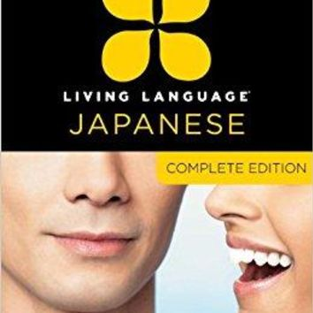 Living Language Japanese Living Language BOX PCK PA