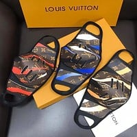 Louis Vuitton LV New Camouflage Printed Comfortable Breathable Isolation Mask (Safely Disinfected)