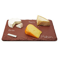 SLATE CHEESE BOARDS WITH SOAPSTONE CHALK
