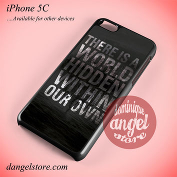 The Mortal Instruments City Of Bones Quote Phone case for iPhone 5C and another iPhone devices