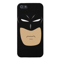 Super Hero Black Iphone 5 Case from Zazzle.com