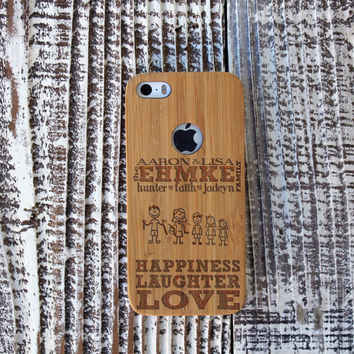 Personalized Family-themed iPhone Case