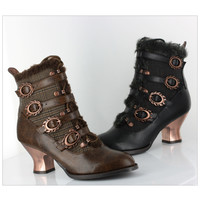 Nephelle Ankle Boots - Women's Clothing & Symbolic Jewelry – Sexy, Fantasy, Romantic Fashions