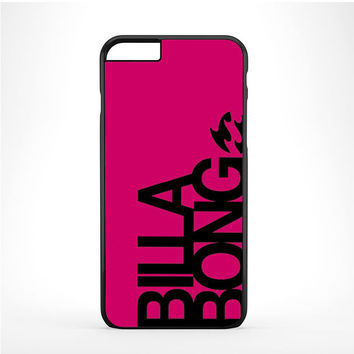 billabong girl pink logo Iphone 6 Plus | 6s Plus Case
