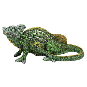 Park Avenue Collection Veiled Chameleon Statue