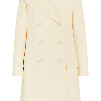 Double-breasted wool-crepe coat | Chloé | US | THE OUTNET