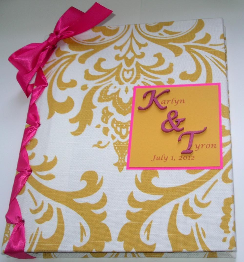Handmade Wedding Guestbook/Album - .. on Luulla