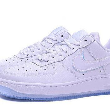 ONETOW NIKE Air Force 1 07 Prm AF1 White For Women Men Running Sport Casual Shoes Sneakers