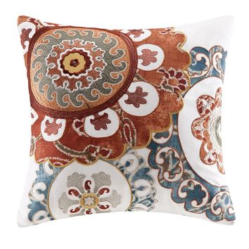 HH Belcourt Medallion Throw Pillow