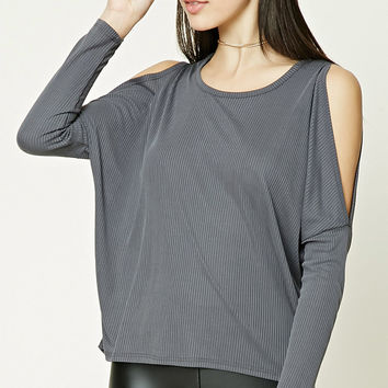 Vented Dolman-Sleeve Top