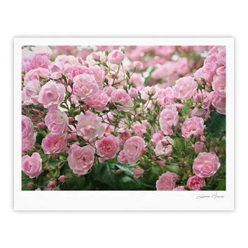 "Sylvia Cook ""The Fairy Rose"" Pink Floral Fine Art Gallery Print"