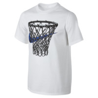 "Nike ""Protect The Net"" Boys' T-Shirt Size Large (White)"