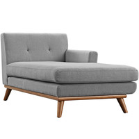 Engage Right-Arm Chaise Expectation Gray