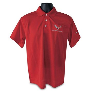 C7 Corvette Polo - Men's Nike Dri Fit Performance Polo
