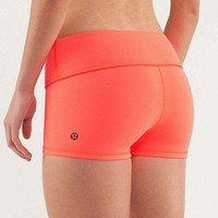 Lululemon Fashion Solid Sport Gym Yoga Tight Beach Shorts-1