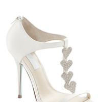 Betsey Johnson Luxe Betsey Johnson Luxe of Love Heel in White