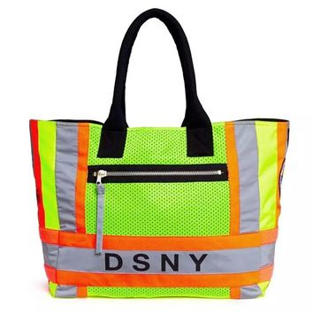 18ss Heron Preston bags men women DSNY  hip hop 3M Reflective Black kanye west streetwear canvas fear of god Green bum bags