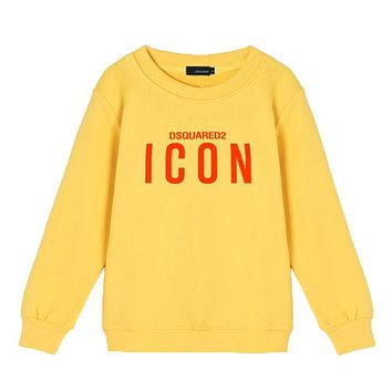 Dsquared2 Children Girls Boys Casual Top Sweater Pullover Sweatshirt