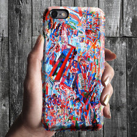 Spring Recipe - Filonov iPhone Case 6, 6S, 6 Plus, 4S, 5S. Mobile Phone Cell. Art Painting. Gift Idea Anniversary. Gift for him and her