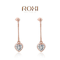 Roxi Romantic Zinc Alloy Crystal Stud Earrings For Women 2020416290