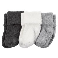 3-Pack Cuff Booties