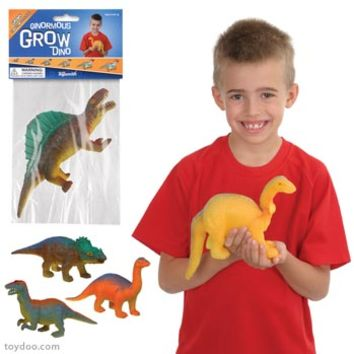 Ginormous Grow Dinosaur - Toysmith - Pack of 24 ea