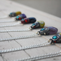 Tribal Gem Necklaces