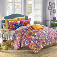 Bella Bombay 12PC Reversible Bed-in-a-Bag with Sheet Set